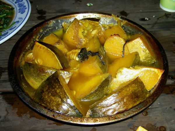 雞汁煮日本有機南瓜