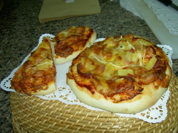 自製冷凍披薩