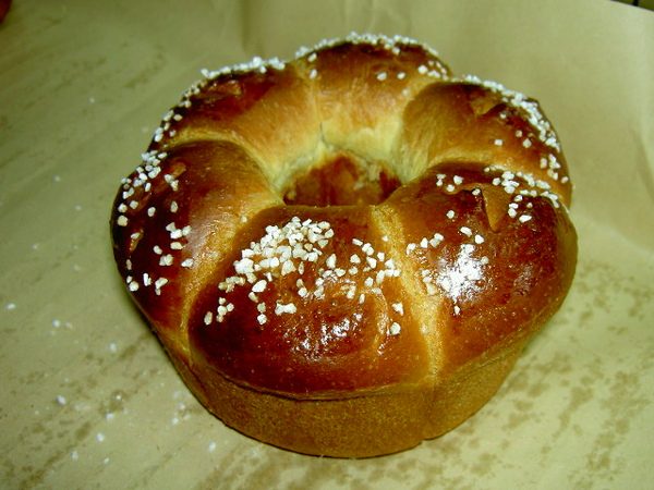 歐式甜麵包出爐