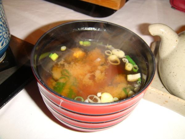 魚鮨-不死鹹味噌湯