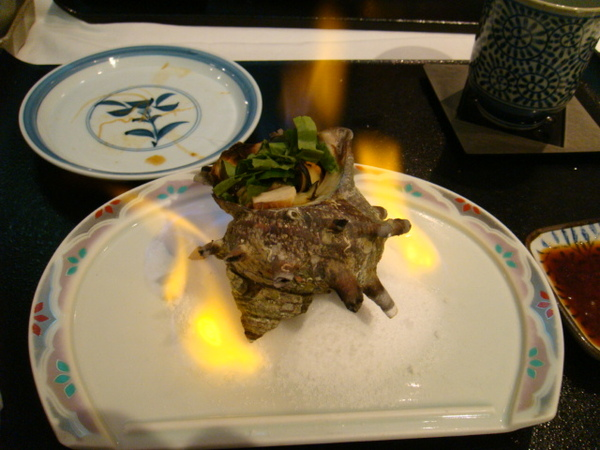 魚鮨-烤海螺