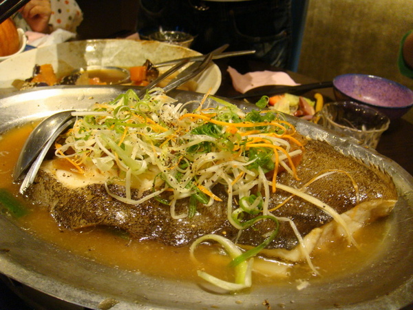 豆蒄-清蒸鮮鱈魚