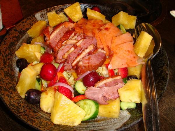 豆蒄-時蔬鮮果沙拉