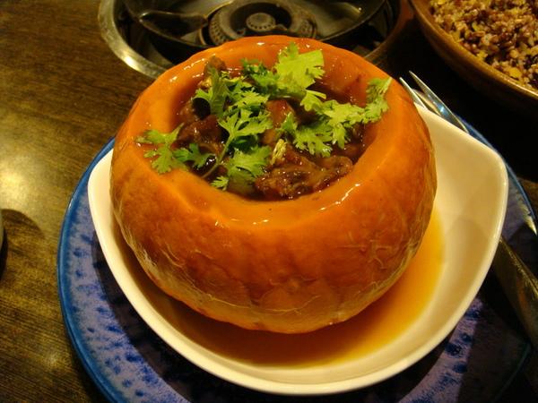 豆蒄-日本南瓜排骨盅