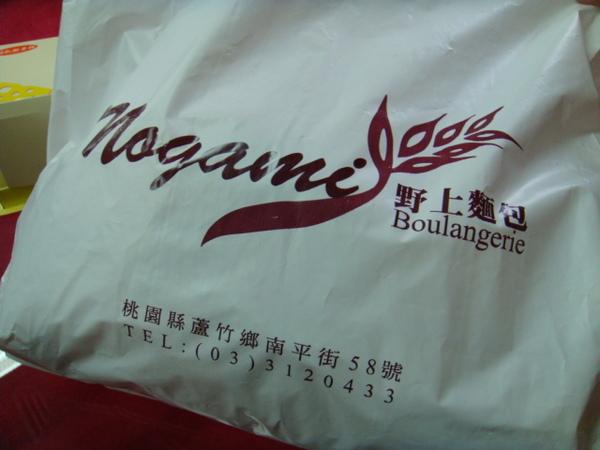 野上麵包-包裝袋