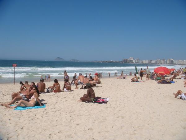 Copacapana海灘