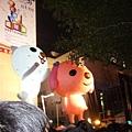 市政府廣場的大型玩偶