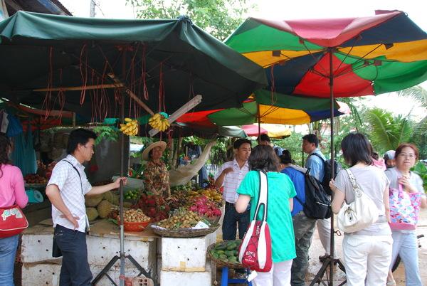 路邊買水果