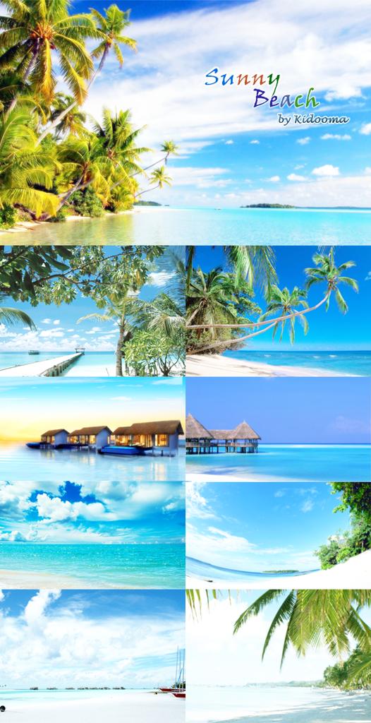 sunny_beach by kidooma_01