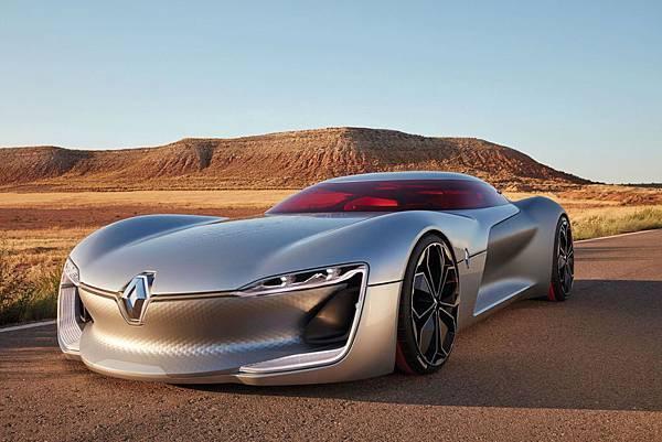 單「門」結構-Renault 發表電動概念超跑 Trezor Grand Tourer Concept