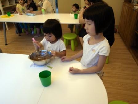 20120517做巧克力餅乾with Katie 015