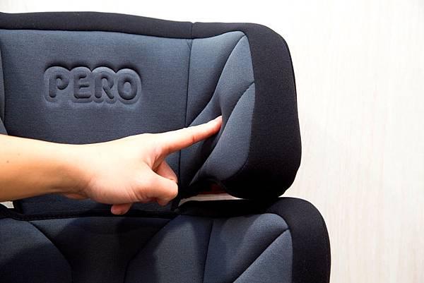PERO NI Plus ISOFIX Carseat Headrest Foam