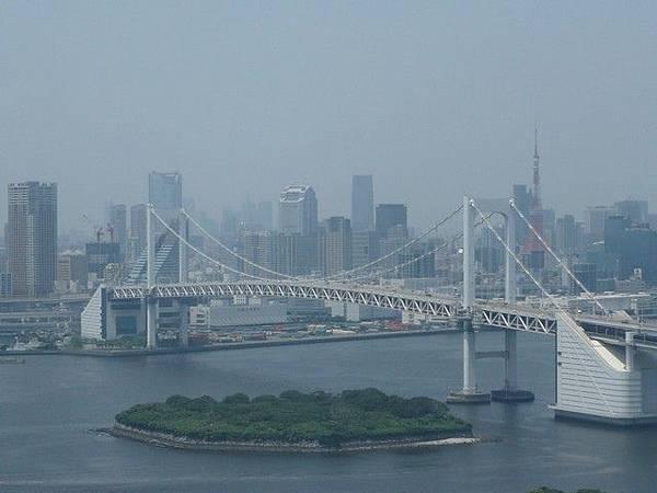 從展望台看的彩虹大橋