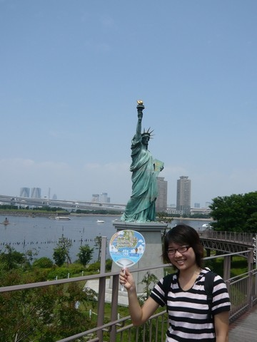 有認證過的自由女神像