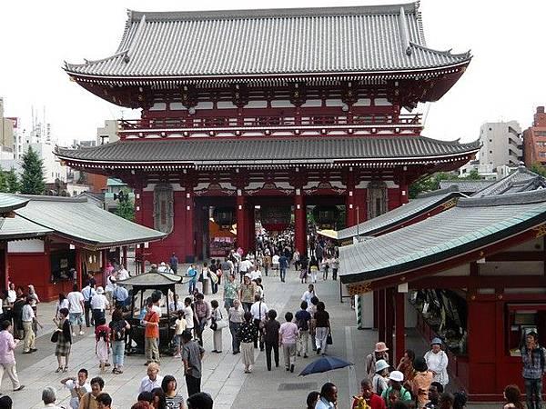 從廟前往下拍  通通都是外國遊客