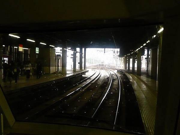 火車即將出站