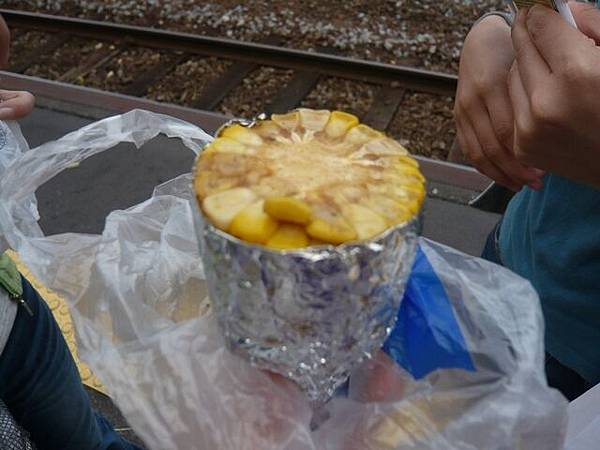 超級甜的烤玉米