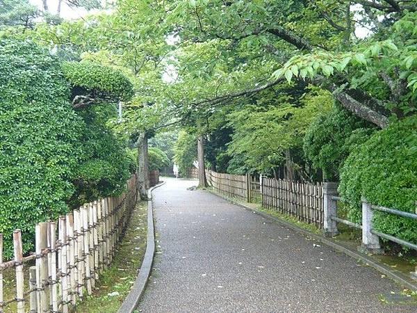 恩賜公園裡的步道