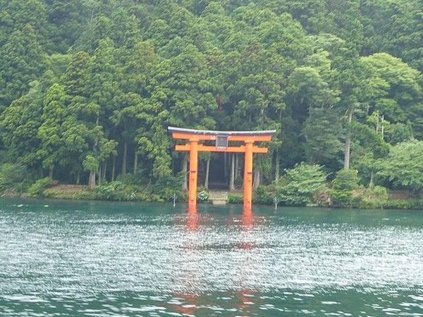 從這個角度望過去,神社看起來特別神秘
