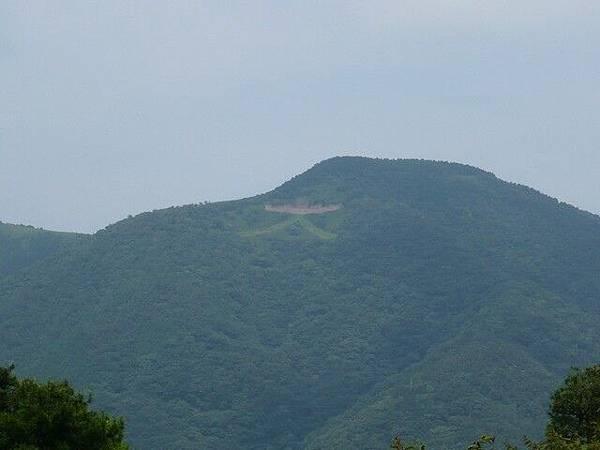 強羅有名的是可以看到大文字山