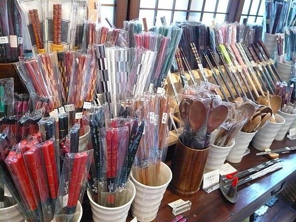 各種材質造型的筷子