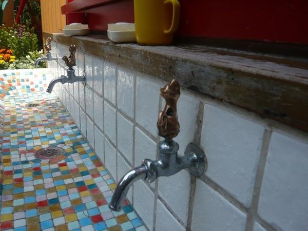 很可愛的貓咪水龍頭
