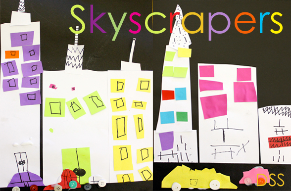 Paper-Skyscrapers