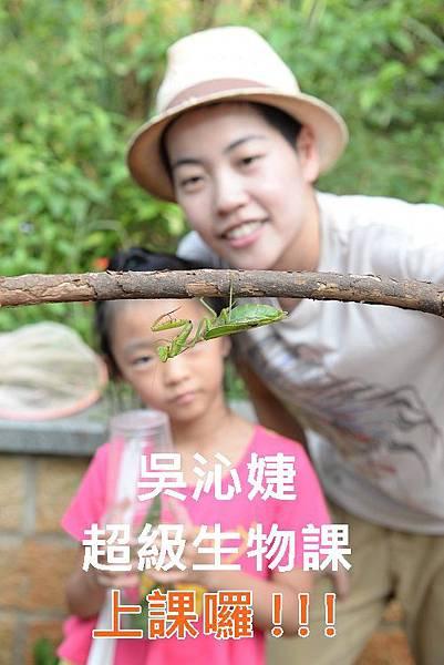 吳沁婕昆蟲課