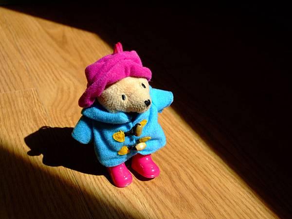 柏靈頓熊寶寶在房間