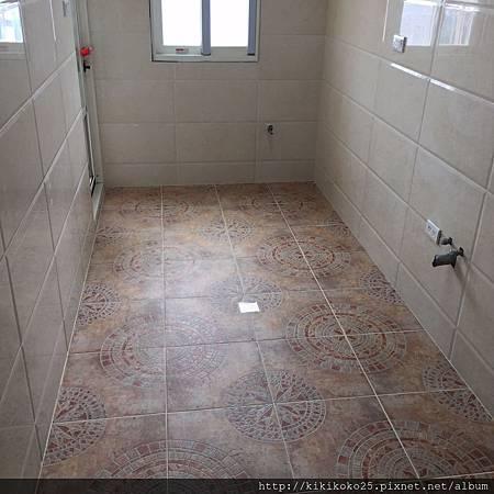 迴龍區林公館泥作工程 廚房浴室地壁磚