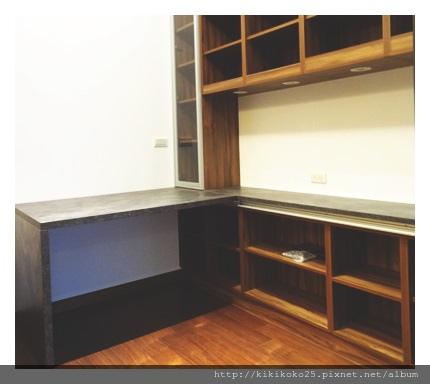 開放式收納櫃 活動書桌 翔富室內裝潢-2.JPG