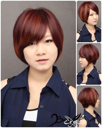 2012秋冬髮色 古金色x高貴紫紅1