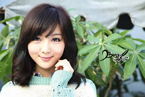 2013秋冬流行髮型 網拍model小豬 梨花風都會女孩02