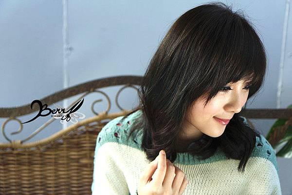 2013秋冬流行髮型 網拍model小豬 梨花風都會女孩03