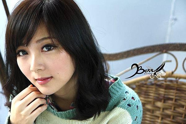 2013秋冬流行髮型 網拍model小豬 梨花風都會女孩04