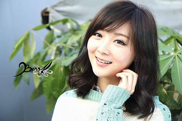 2013秋冬流行髮型 網拍model小豬 梨花風都會女孩06