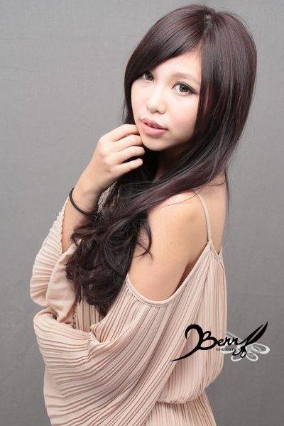 2012秋冬髮色 巧克力 x 紫07