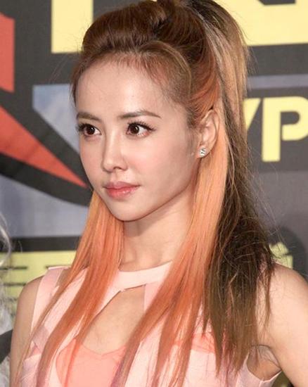 蔡依林混色染髮 髮型