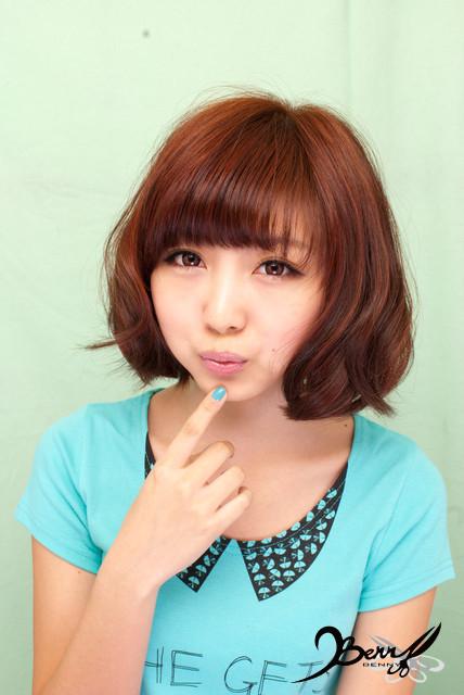 2012春夏流行髮色 網拍model-小豬07
