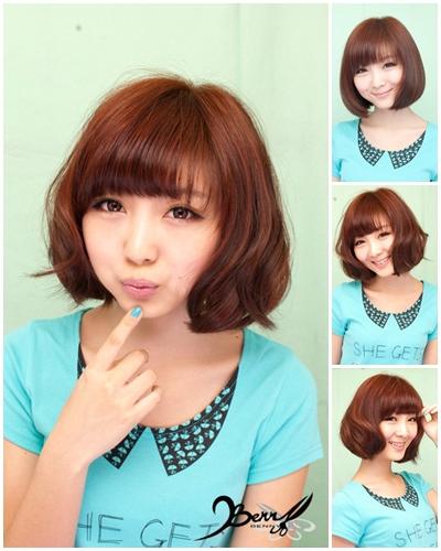 2012春夏流行髮色 網拍model-小豬01