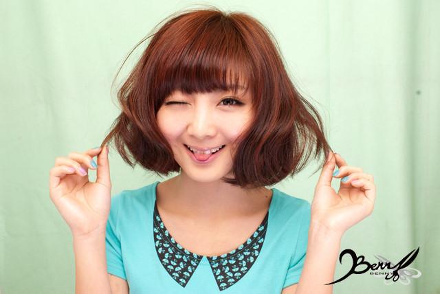 2012春夏流行髮色 網拍model-小豬11