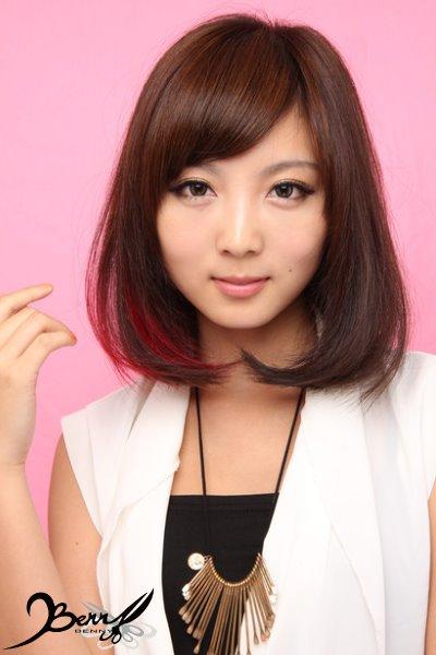 2013秋冬流行髮色 網拍model-小豬3