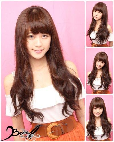 2012 秋冬流行髮色 巧克力棕1