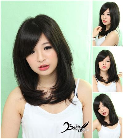 2013髮型 春夏流行髮色 金鑽黑01
