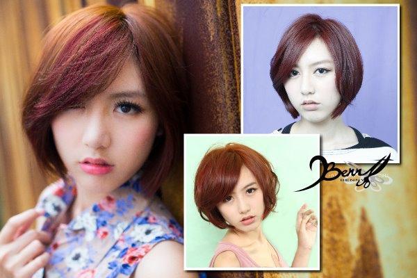 2014流行髮色 木質地 紅銅色10