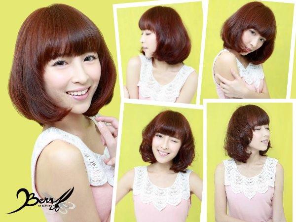 2014春夏髮色 粉嫩橘07