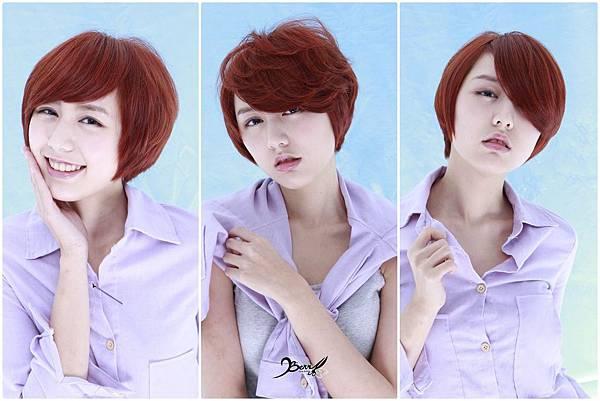 2014流行髮色 三款不同風味髮型一次到位01