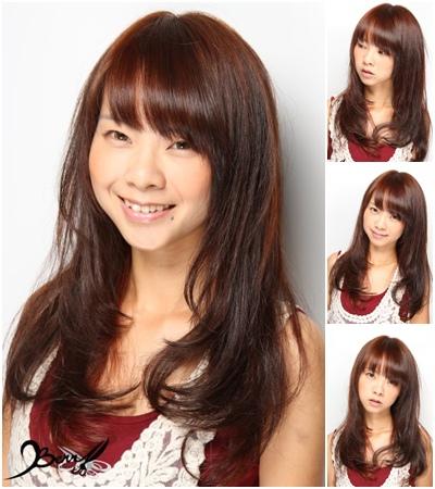 2013夏季清涼長捲髮 髮型06