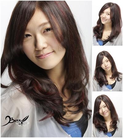 2013夏季清涼長捲髮 髮型01