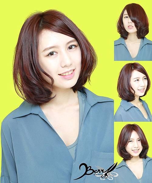 【2015春夏髮型髮色】甜美蜜桃橘 (1)
